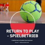 Update 01.08.20: Hygienekonzept – Return To Play Stufe 7